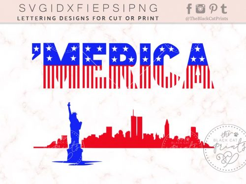 MERICA svg by TheBlackcatprints