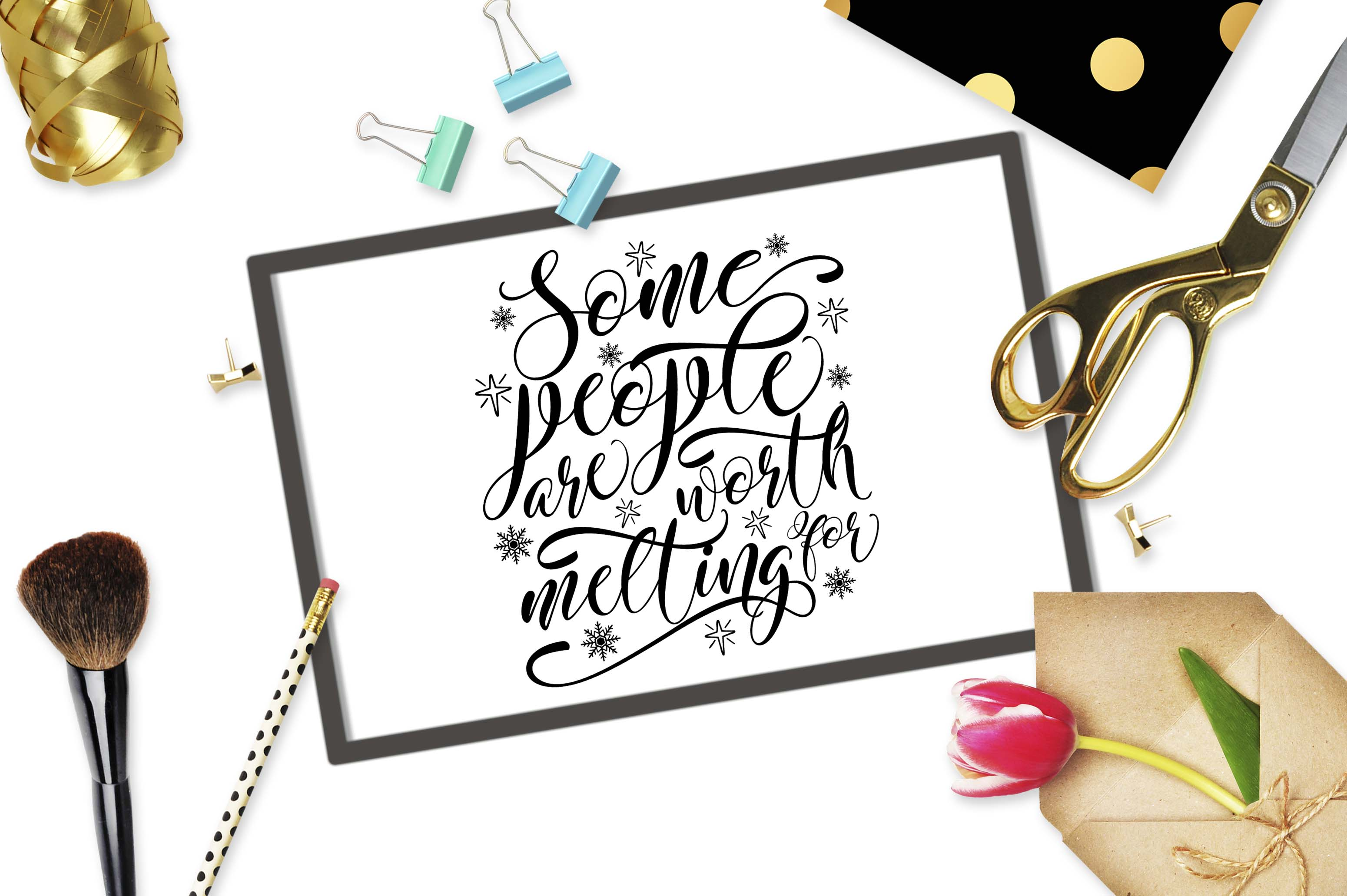 Some People Are Worth Melting For Svg Dxf Png Eps Theblackcatprints