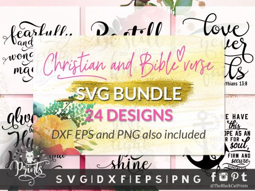 Christian bundle SVG