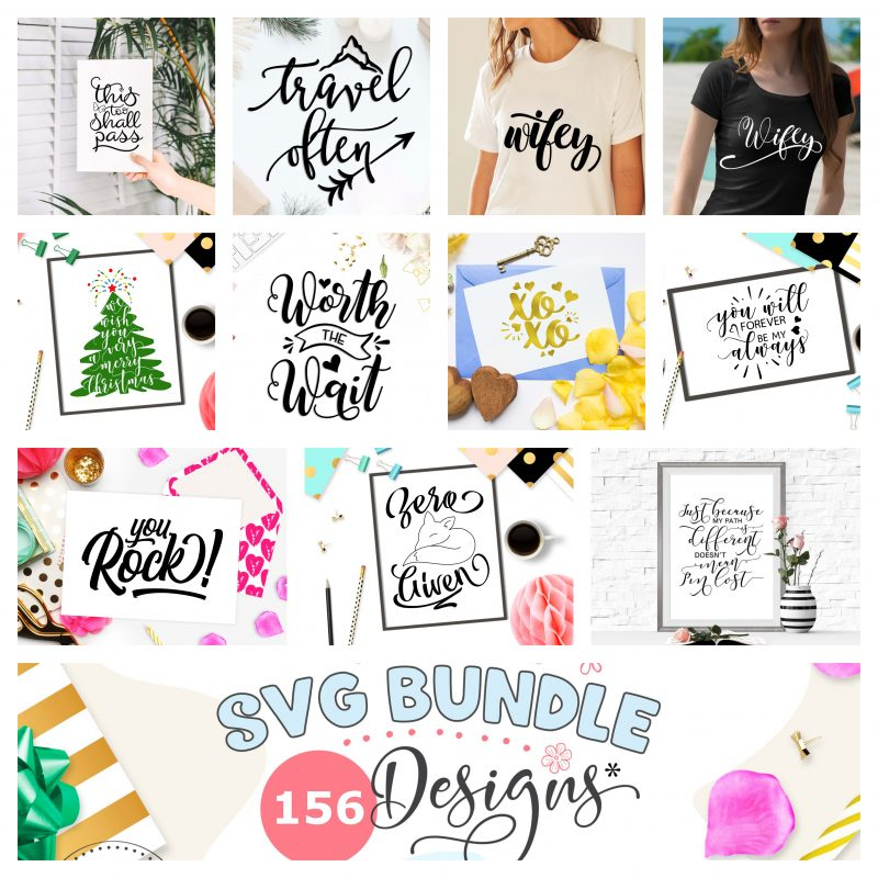 TheBlackCatPrints BIG SVG BUNDLE