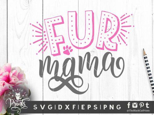Fur mama SVG