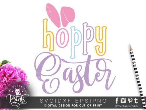Hoppy Easter svg