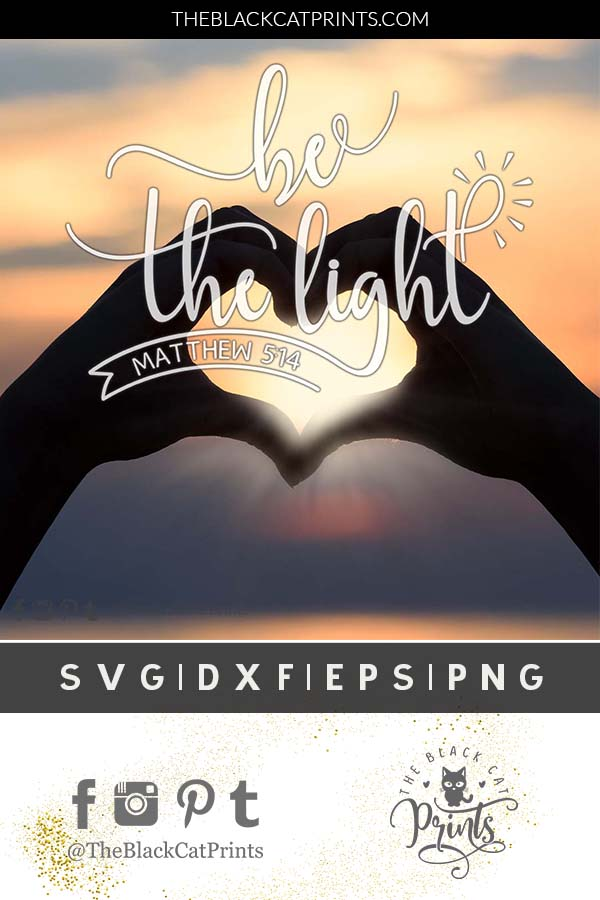 Be the light SVG