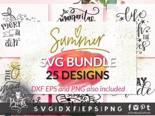 Summer bundle SVG