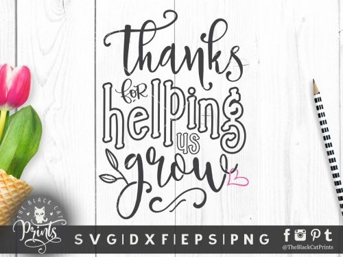 Thanks for helping us grow SVG