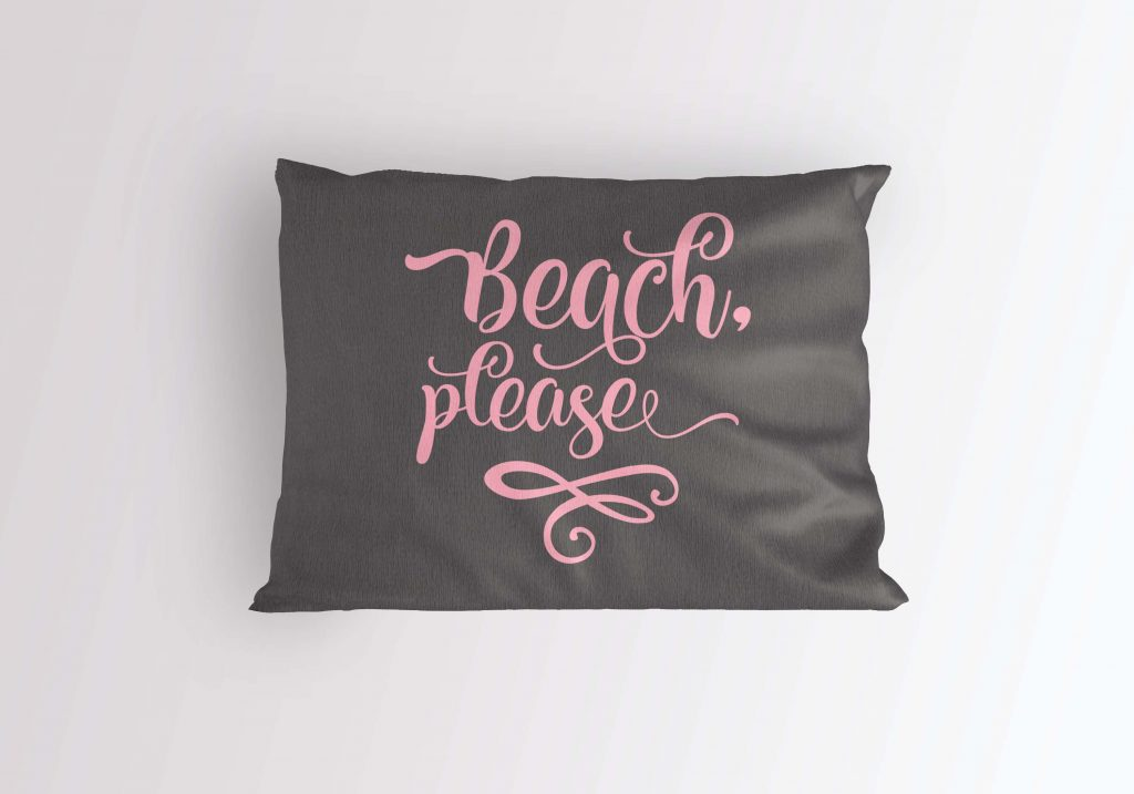 Beach please svg