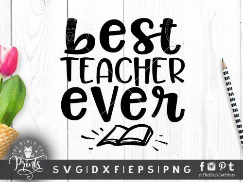 Best teacher ever SVG