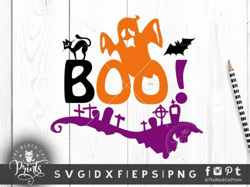 Boo Ghost SVG