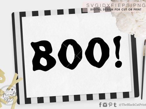 Boo svg - TheBlackCatPrints