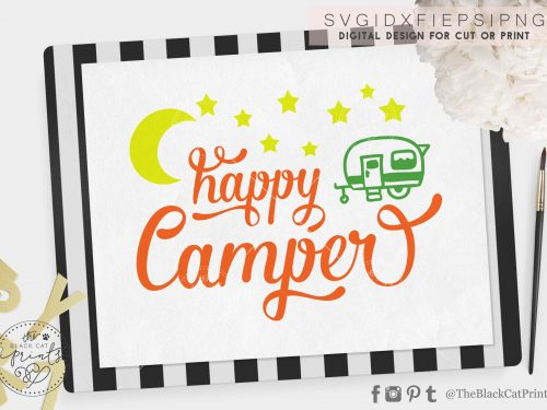 Happy Camper svg