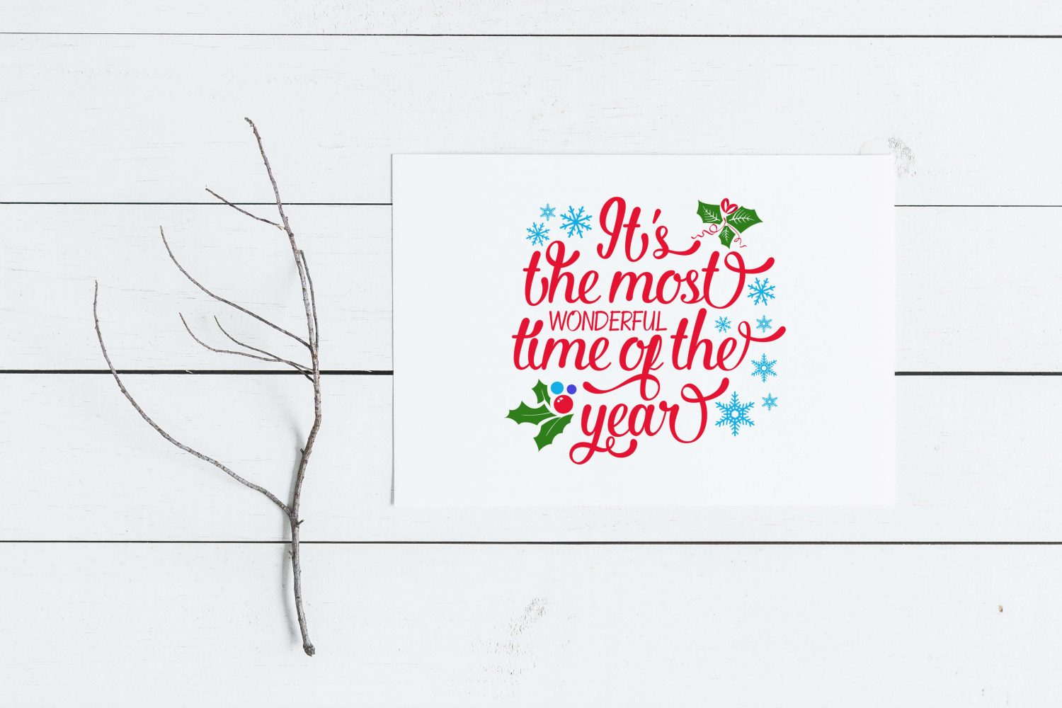 The Most Wonderful Time Of The Year Svg Dxf Png Eps Theblackcatprints