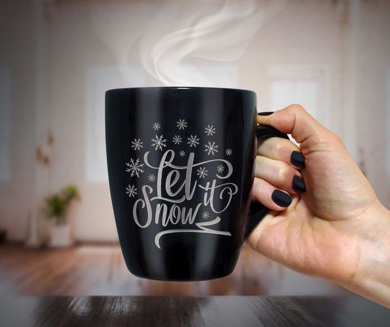 Let it snow svg - TheBlackCatprints