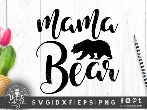 Mama Bear SVG