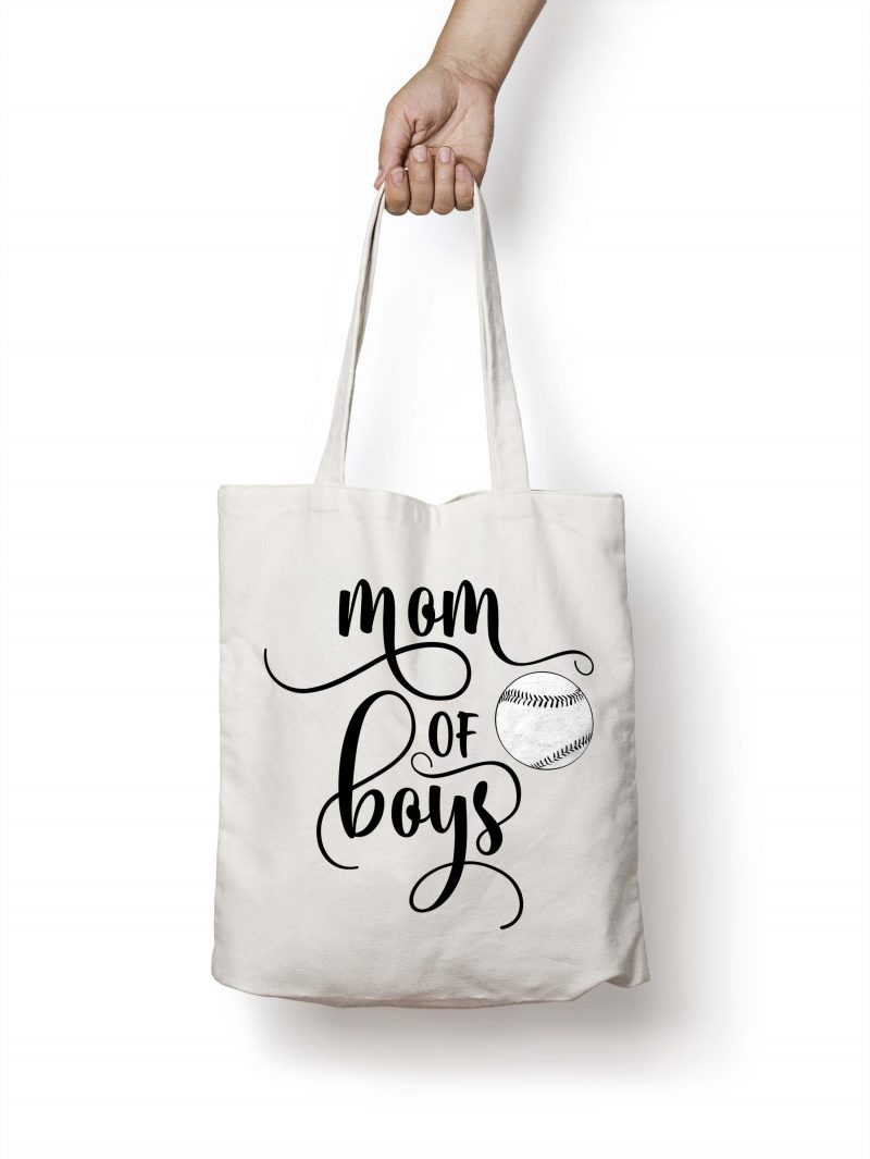 Mom of boys SVG