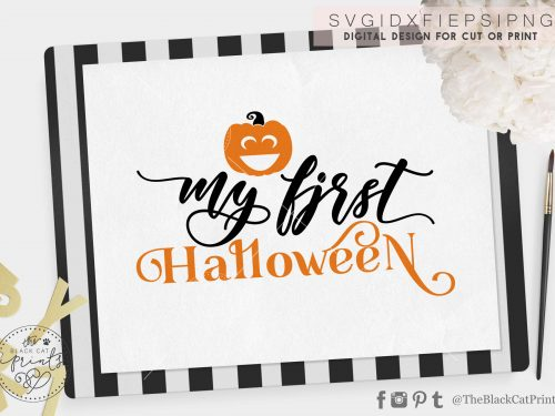 My first Halloween svg - TheBlackCatprints