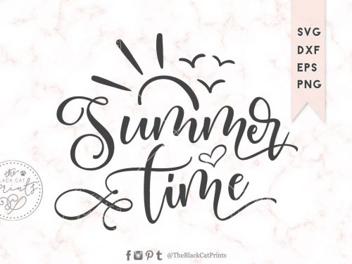 Summer time svg