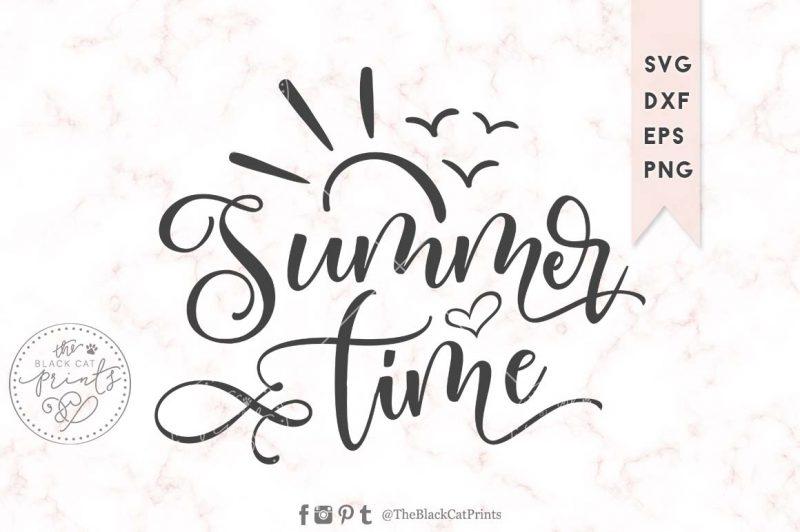 Summer time svg