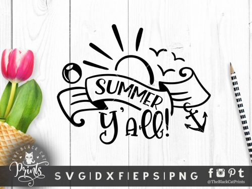 Summer Y'all! SVG
