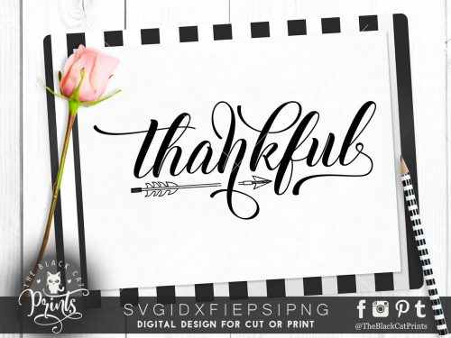 Thankful Arrow svg
