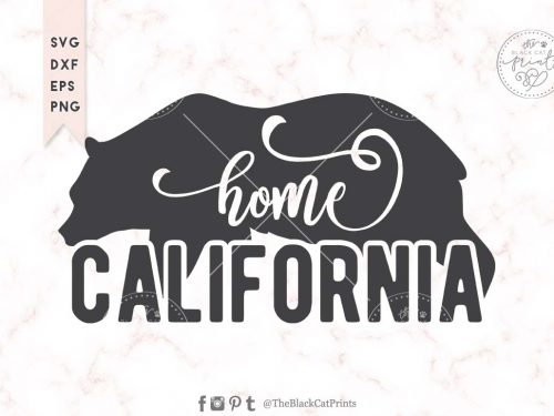 California bear svg
