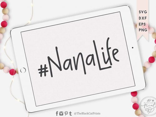 #NANALIFE svg