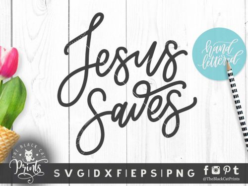 Jesus Saves svg