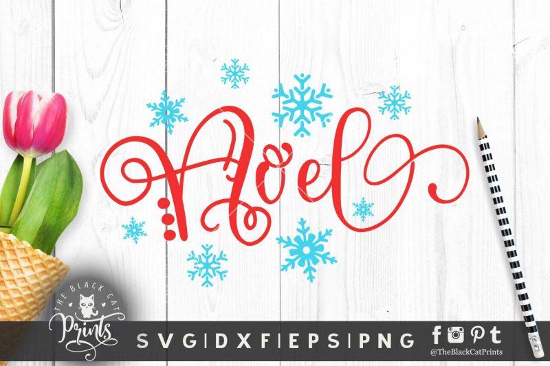 Noel Christmas SVG