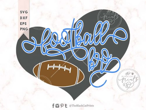 Football bro svg