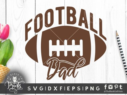 Football dad SVG