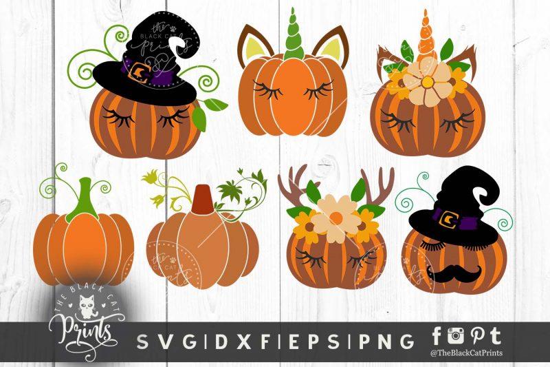 Pumpkin clipart SVG