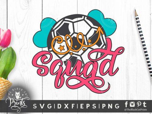 Soccer squad SVG