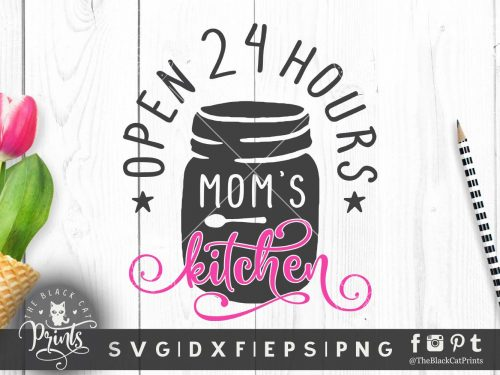 Mom's kitchen SVG