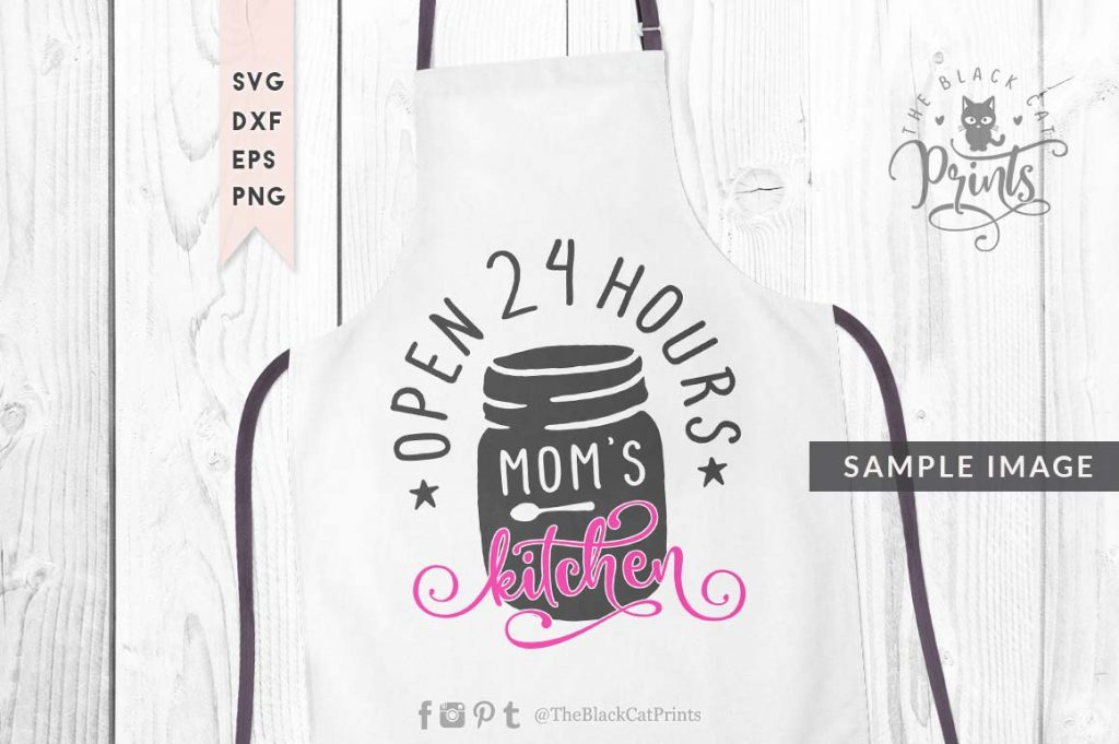 Mom's kitchen svg