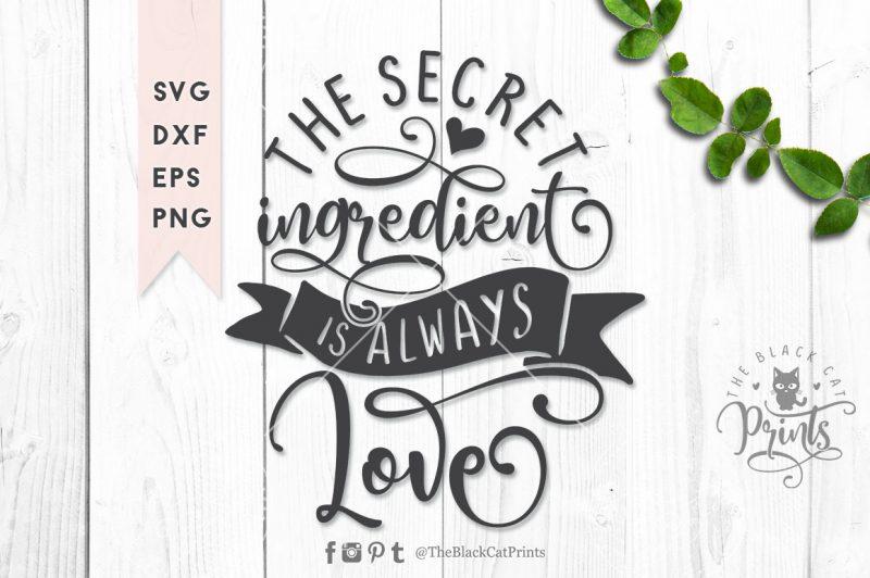 The secret ingredient svg