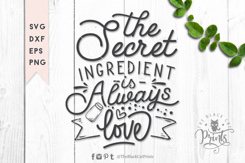 The secret ingredient svg