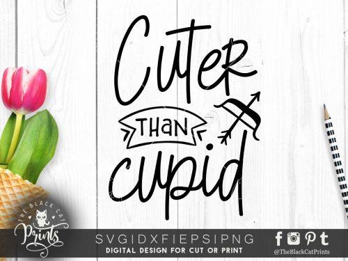 Cuter than Cupid svg
