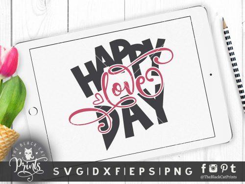 Happy Love day svg