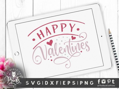 Happy Valentines svg