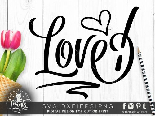 Love! - Valentines svg