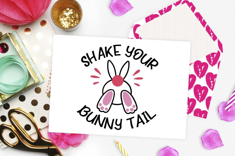 Shake your bunny tail svg - 2