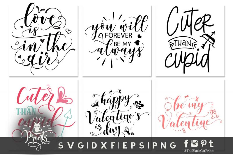 Valentines bundle svg