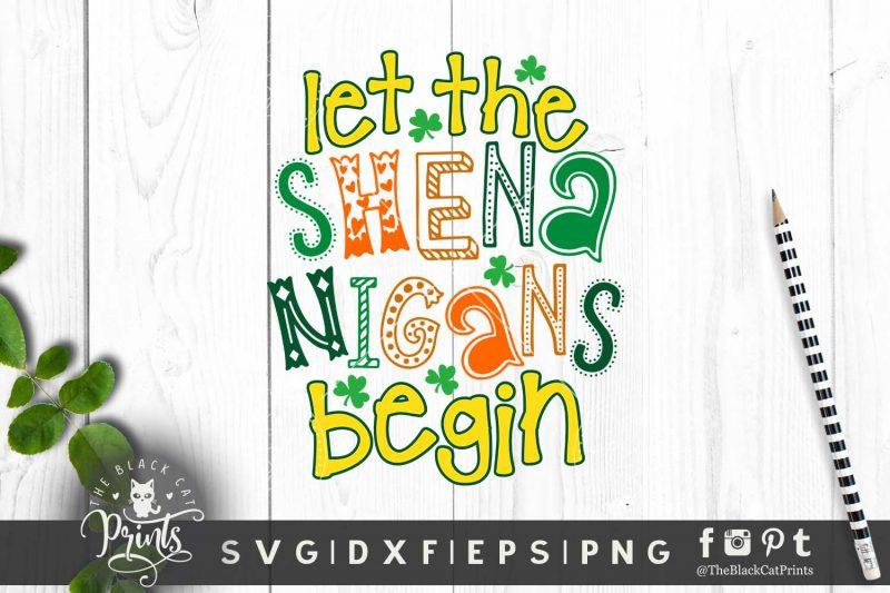 Let the Shenanigans Begin SVG