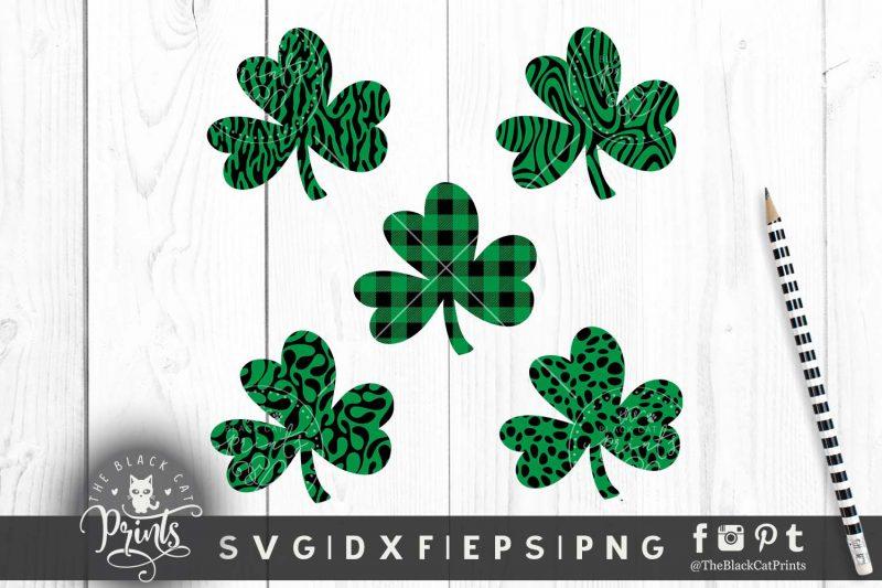 Shamrock Clover Clipart SVG