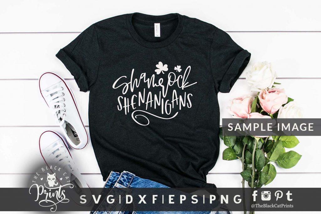 Shamrock Shenanigans svg