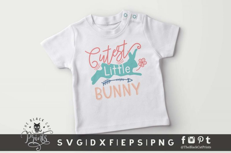 Cutest Little Bunny SVG
