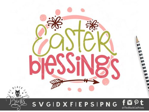 Easter Blessings SVG
