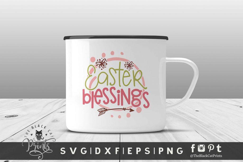 Easter Blessings SVG