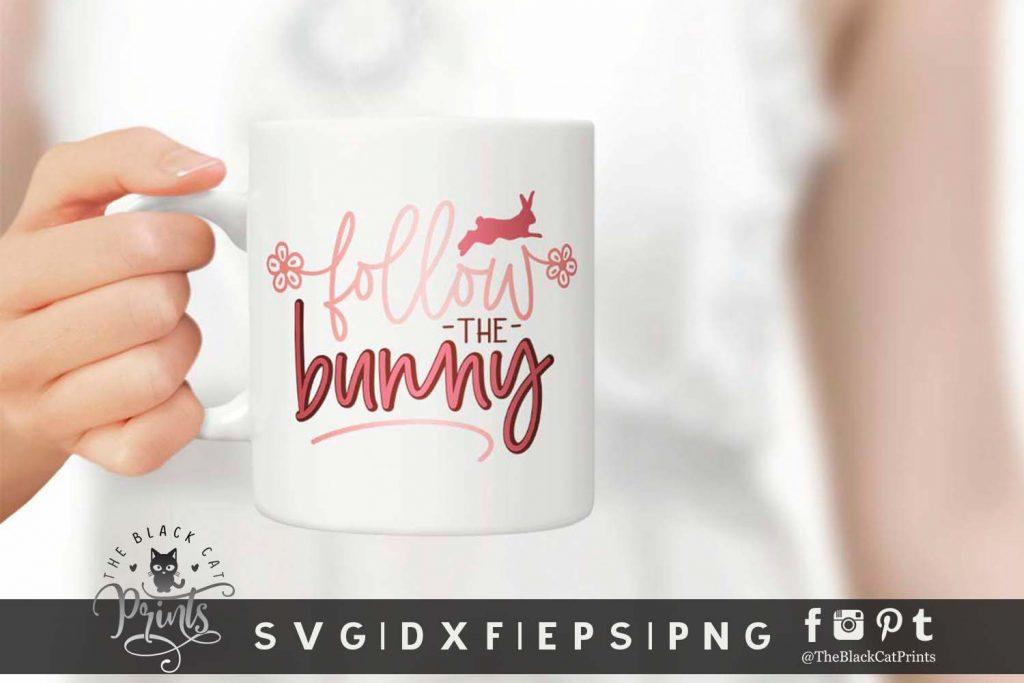 Follow The Bunny SVG