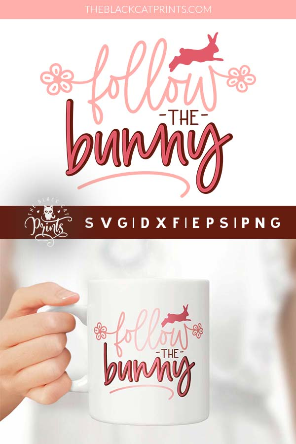 Follow The Bunny SVG