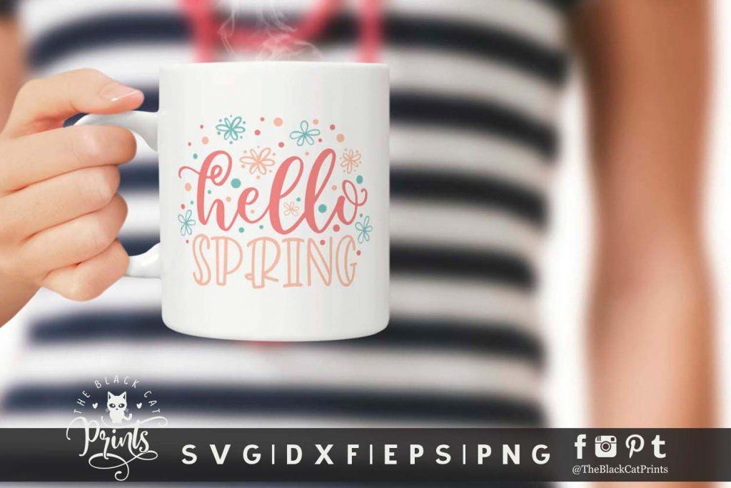 Hello Spring SVG